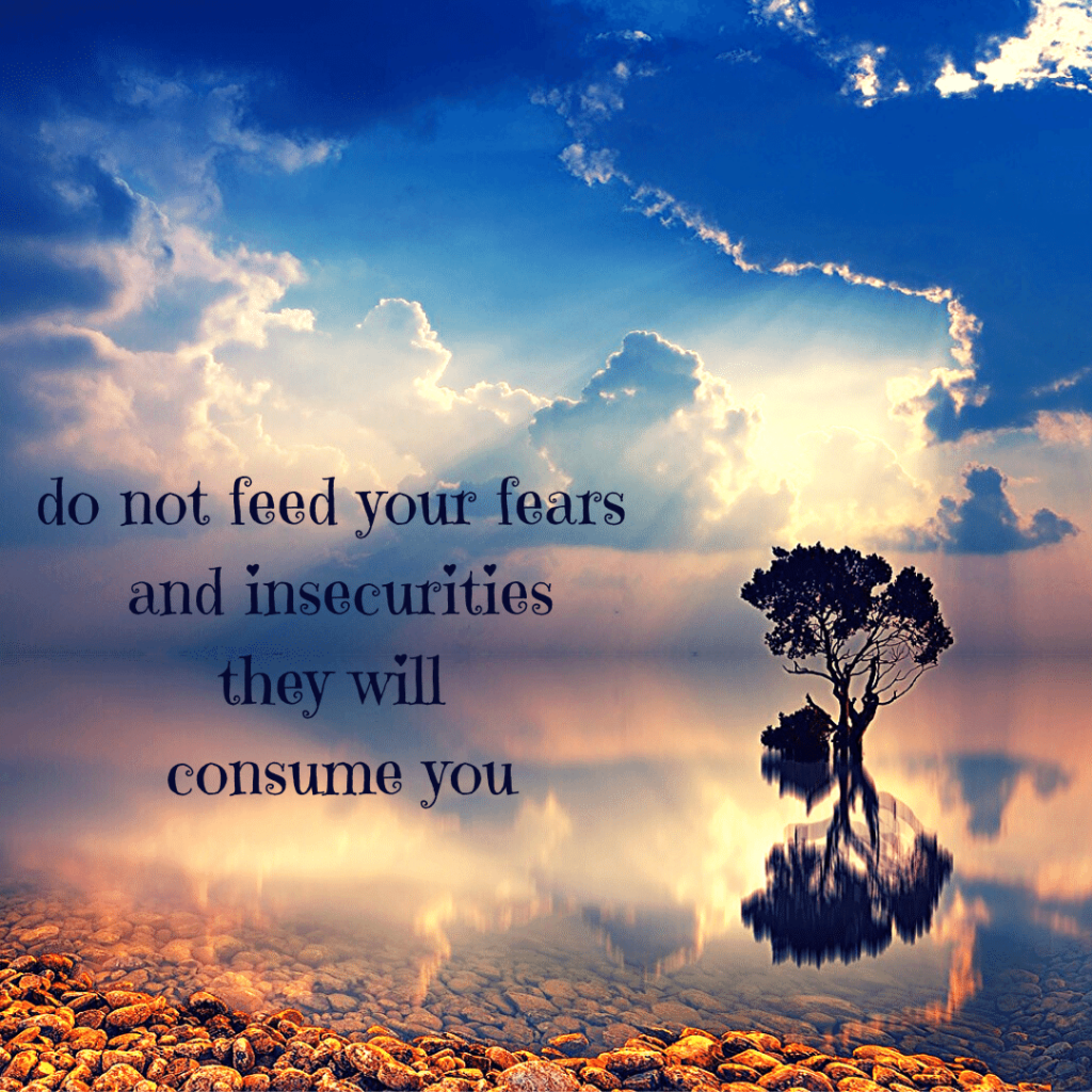 do not feed your fears