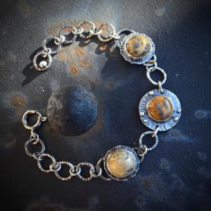 Armband met Crazy Lace Agaat