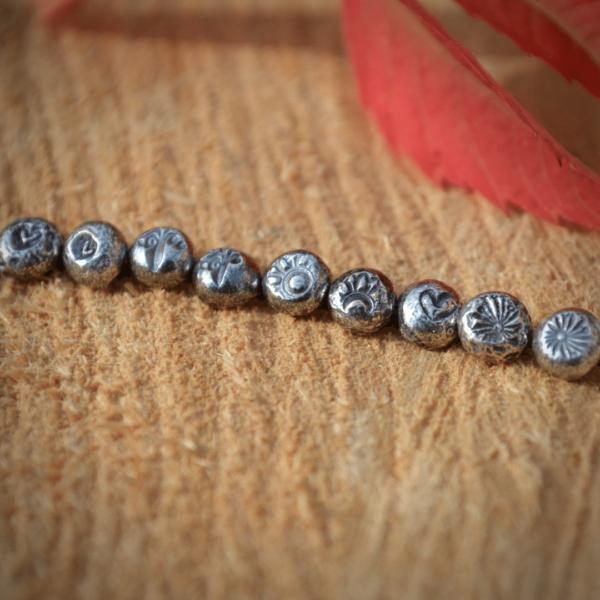 oorknopjes zilver handgemaakt en uniek